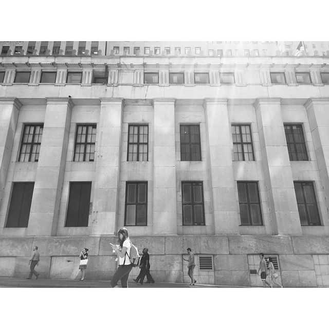 Ancient New York #fidi #newyork #architecture #pilasters #classical