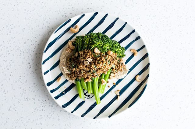 Steamed broccolini, cashew + lentils, one of our sides to choose  #theboathousegroup #mobydickswhalebeach #weddings #events #mains