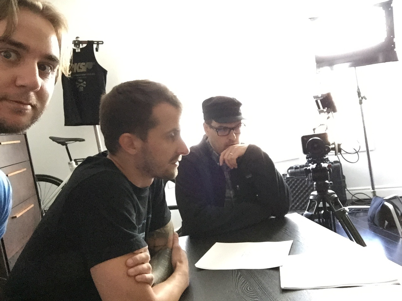 The morning production meeting that began it all