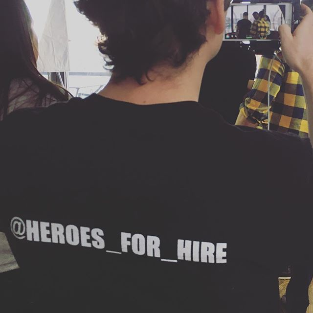 Tenfed shoot #behindthescenes #tenfed #heroesforhire