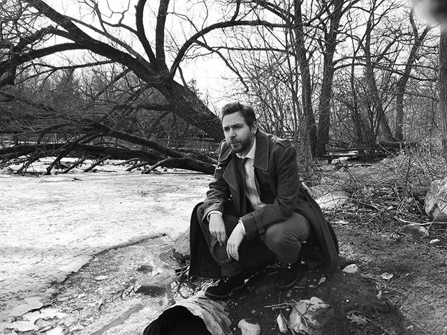 Detective Carter isn't a big fan of lagoons, or creatures from them. #getweird #detective #noir #film #filmmaking