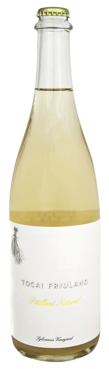 Bottle of 2018 Tocai Fruilano Petillant Naturel