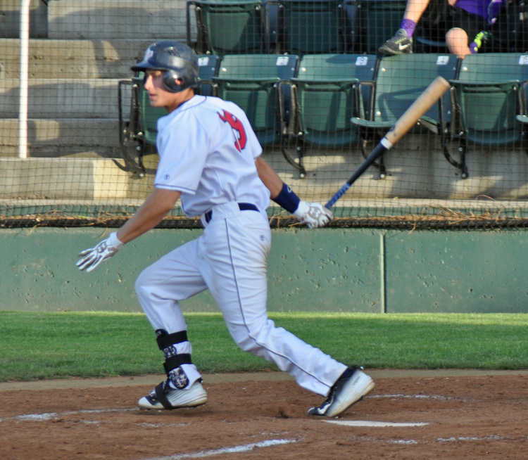 Hunter Hanson scored three times and went 3-for-6, while driving in two runs, including one on an RBI-triple, Sunday.
