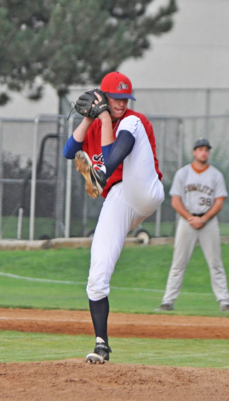 Hunter Wells took a no-hitter into the seventh inning and helped hold the Sweets at bay in a combined one-hitter, Wednesday with Brian Gadsby.