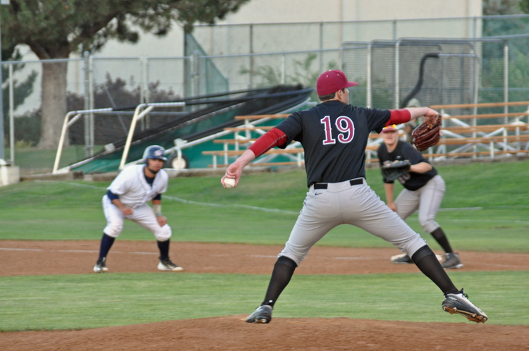 Masterfully pitching led the Corvallis Knights to victory down the stretch, after a rough first inning.