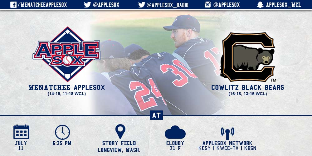 The AppleSox have played seven-consecutive road games decided by one run.