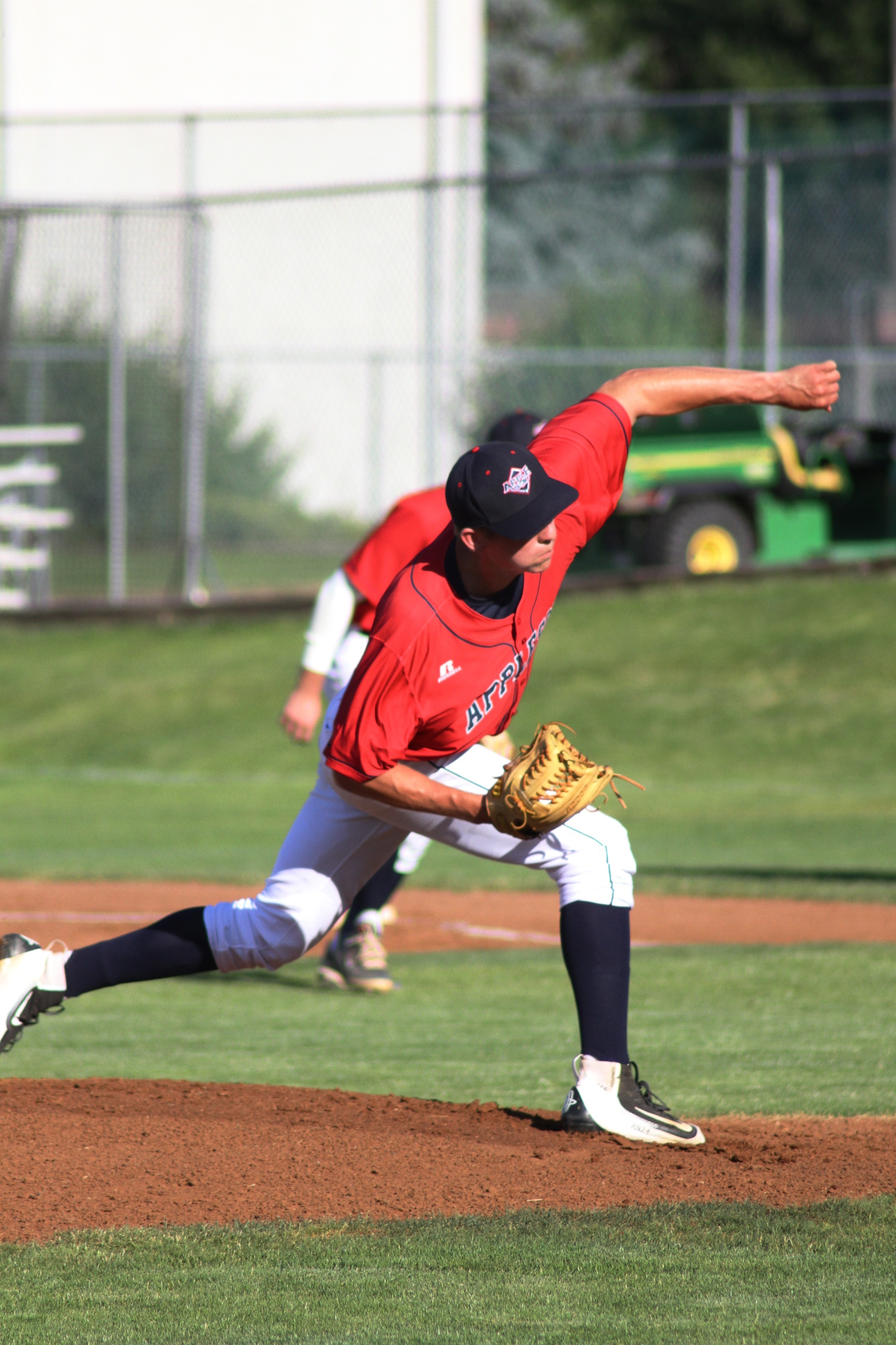 Grady Miller threw seven shutout innings Sunday, as the AppleSox held off a late Corvallis rally to earn a 3-0 win, and take the series at Paul Thomas Sr. Stadium.