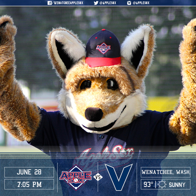 The AppleSox are looking to even their series with the Victoria HarbourCats, Tuesday night.