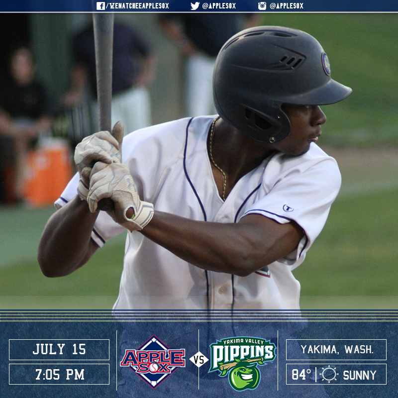 The AppleSox and the Yakima Valley Pippins meet tonight to end the pre-All-Star WCL schedule, Friday-Sunday.