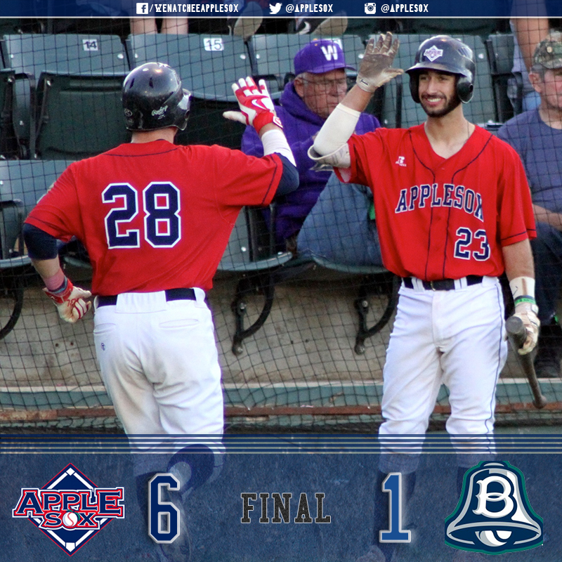 Grady Miller, Michael Toglia, and Sheldon Liikala all chipped in during a strong team win in game one at Bellingham, Saturday.
