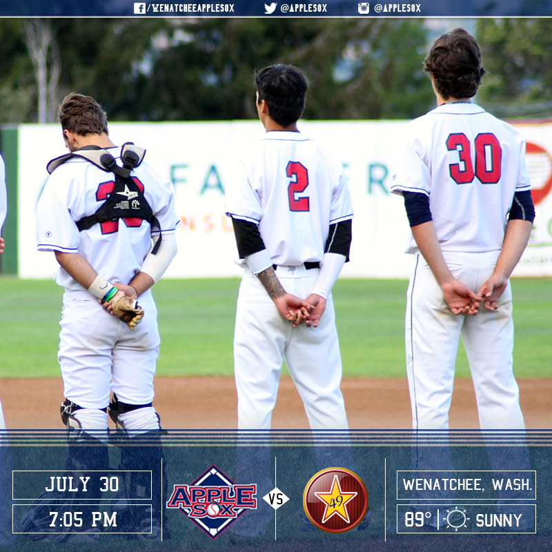 The AppleSox are looking to improve to 4-0 in non-league play this season.