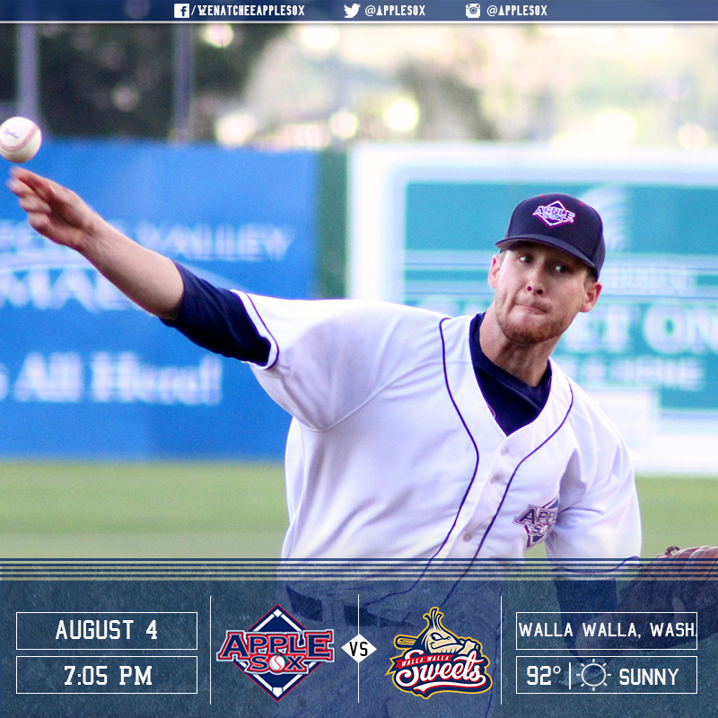 The AppleSox play their last road game of 2016 tonight, hoping to sour the Sweets' playoff hopes in the series finale.