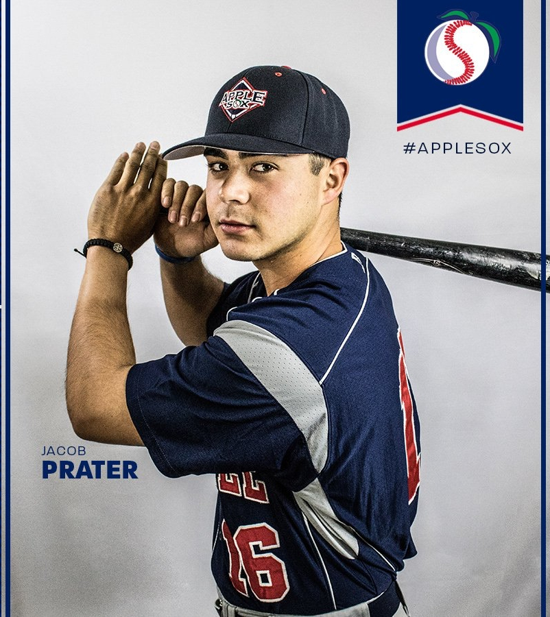 After spending three seasons with the AppleSox as a player, Jacob Prater will return as a coach in 2019.
