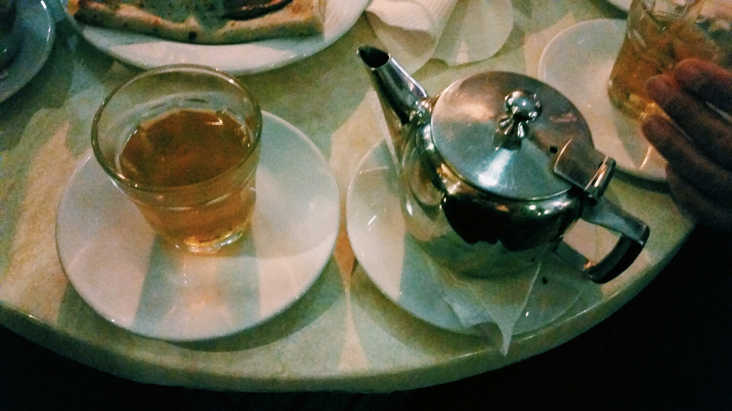 mint tea. All day, every day.