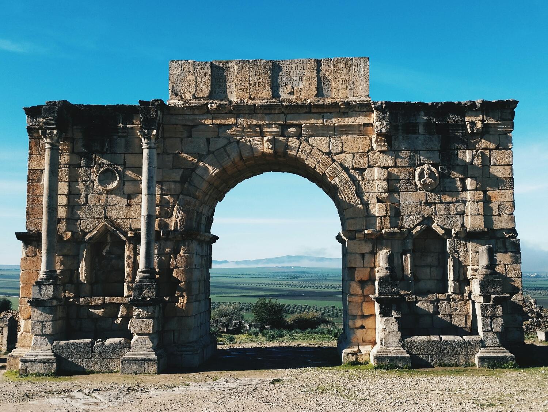 ruins of Volubilis