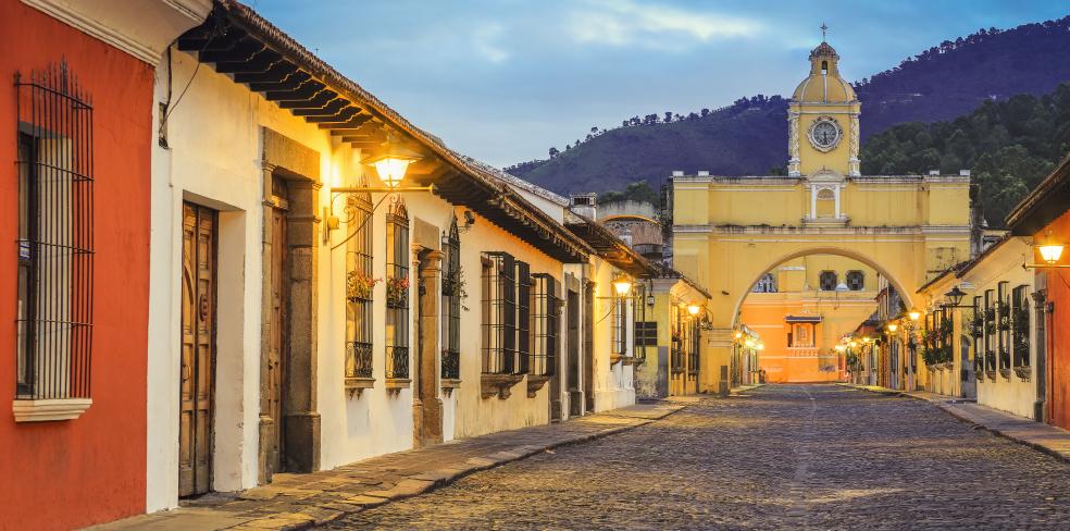The Arch of Santa Catalina Antigua, Guatemala