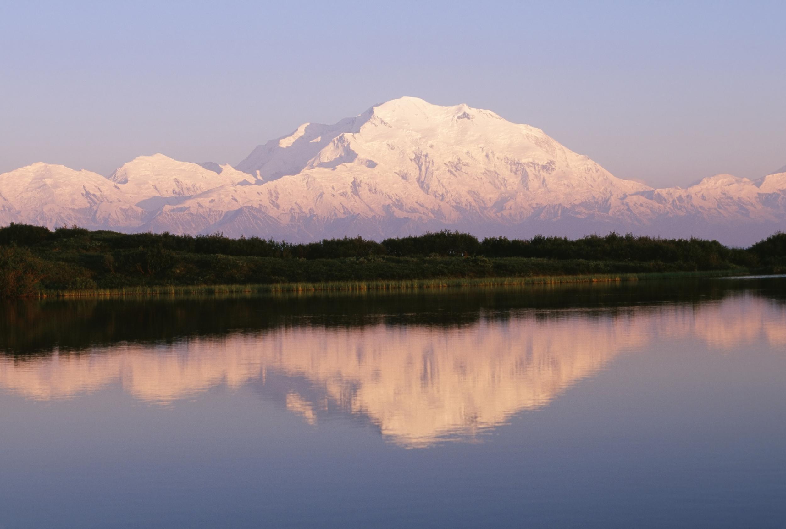 The beautiful Alaskan countryside