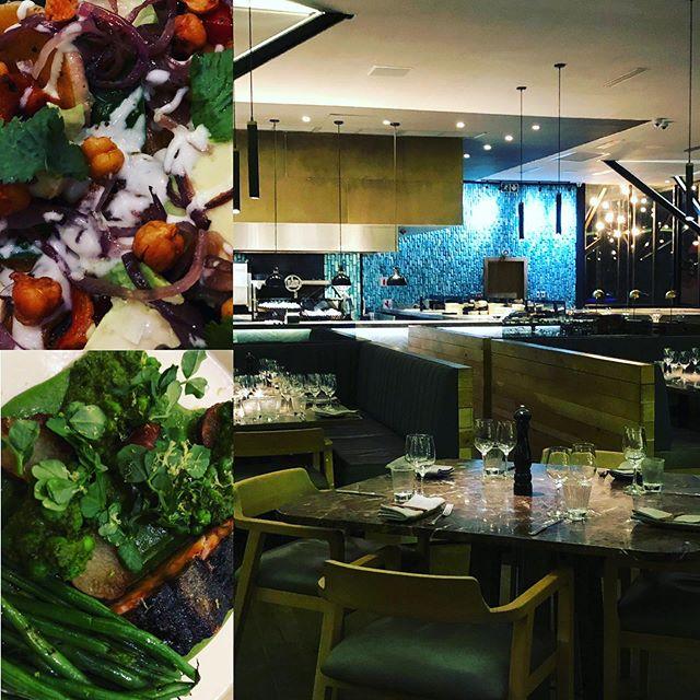 #johannesburg #finedinning #marble #restaurant #southafrica #guateng #butternutsquash #avocado #salmon #peas #cuisine