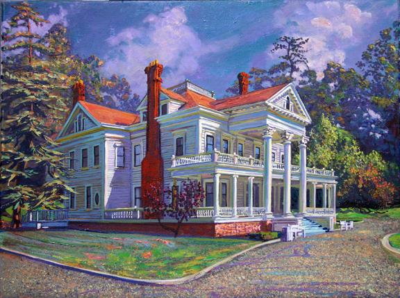 The Dunsmuir-Hellman House, Oakland