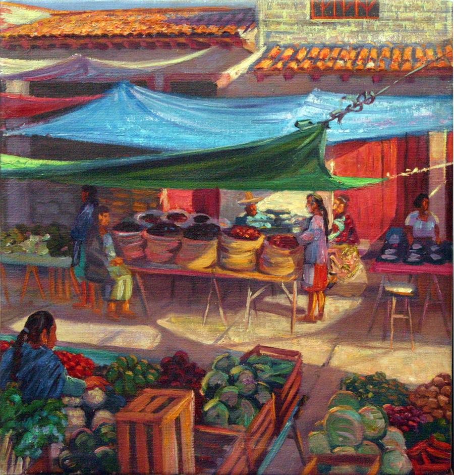 Market, Patzcuaro, Michoacan