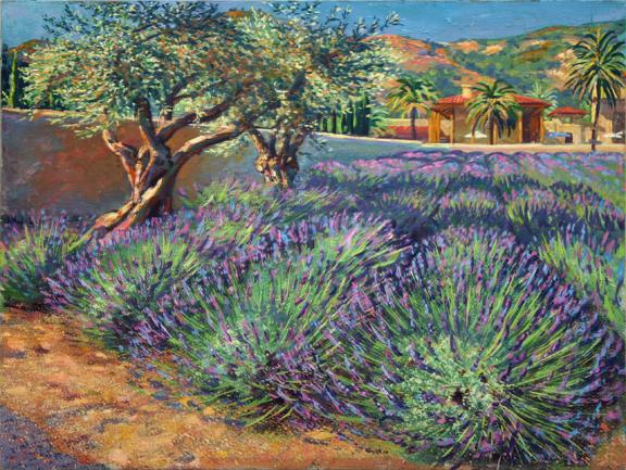 Lavender Season at Ceago