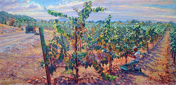 Ceago Grape Harvest, 2007