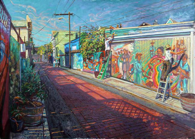 Balmy Alley # 4