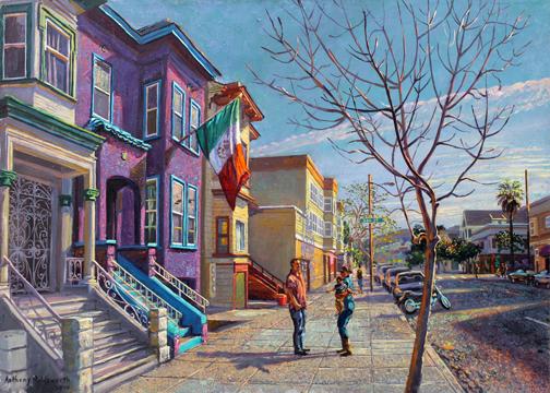 The Purple House On Harrison