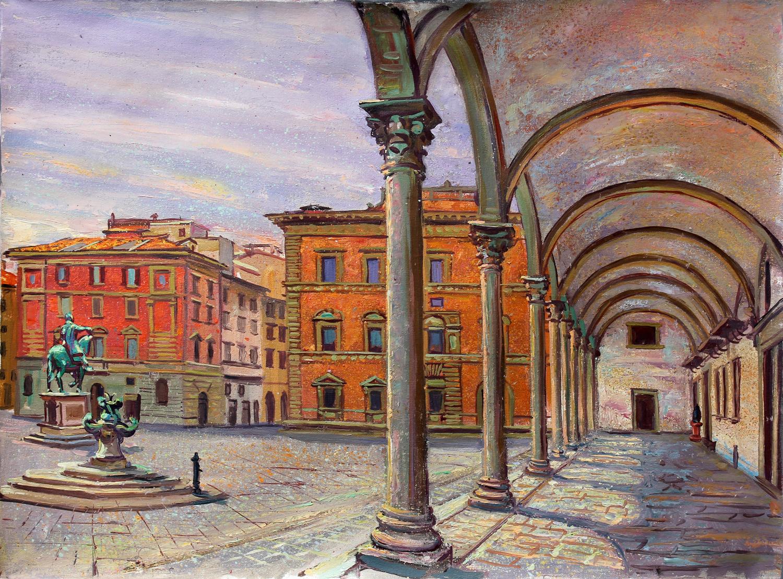 Piazza Santissima Annuciata, Florence