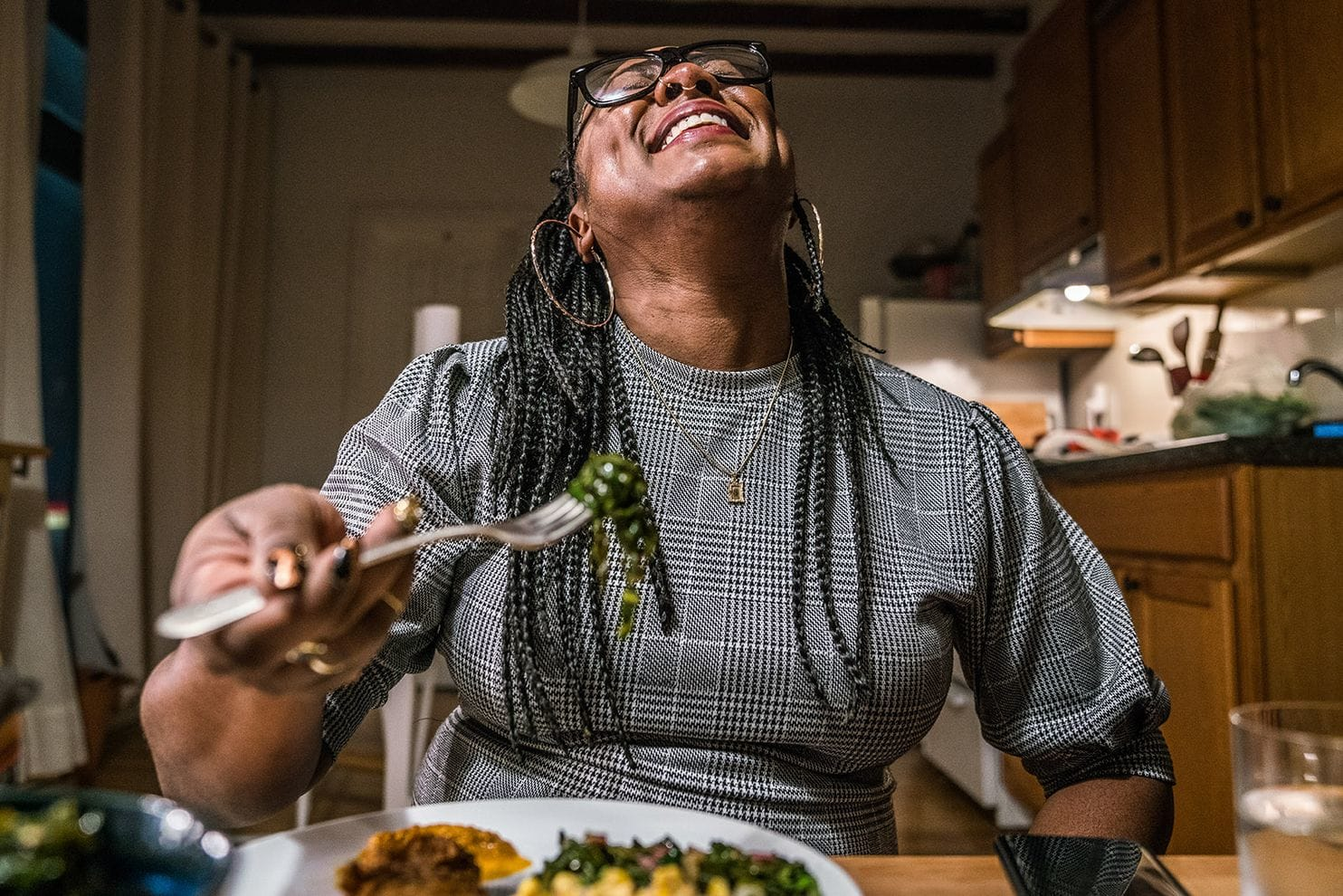 To this Black Lives Matter co-founder, activism begins in the kitchen - (The Washington Post)