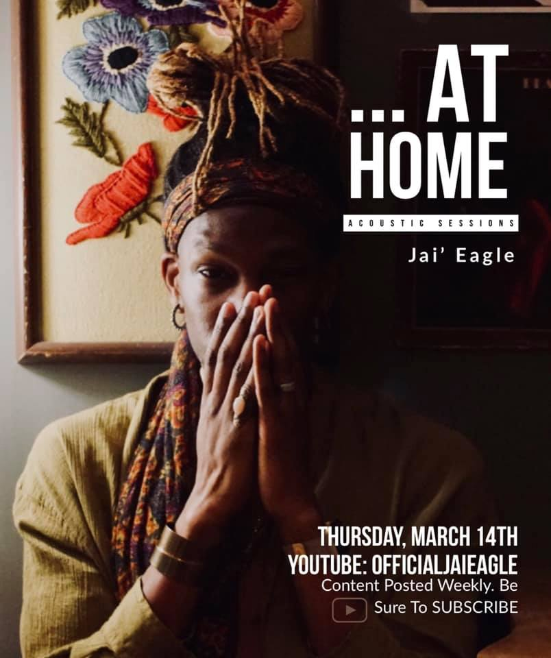 YouTube Alert!!! - Jai' has begun a new series in which he takes viewers into the comfort of his home while he performs some his favorite songs acoustically. Some popular, some unpopular. Some classics, some one hit wonders. Either way, you are granted a glimpse into his musical journal. Click the link below and check it out for yourself!