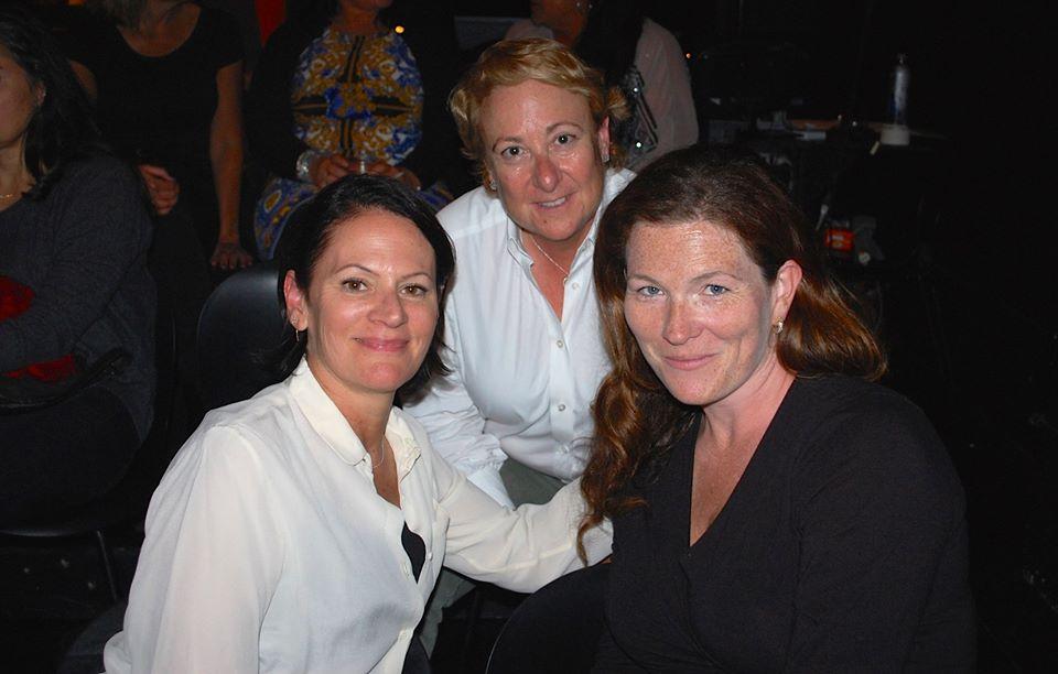 Joyce Newstat, Susan Lowenberg, and Suzy Loftus