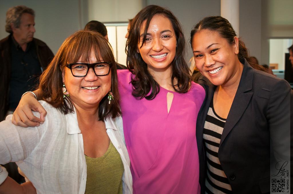 Filipina Women's Network - Genevieve Jopanda and Marily Mondejar, Supporters of THE HAZE