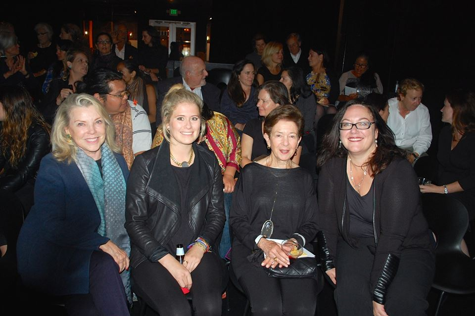 Jeanne Lawrence, Stephanie Lawrence, Cissie Swig, Julie Abrams, Supporters of THE HAZE