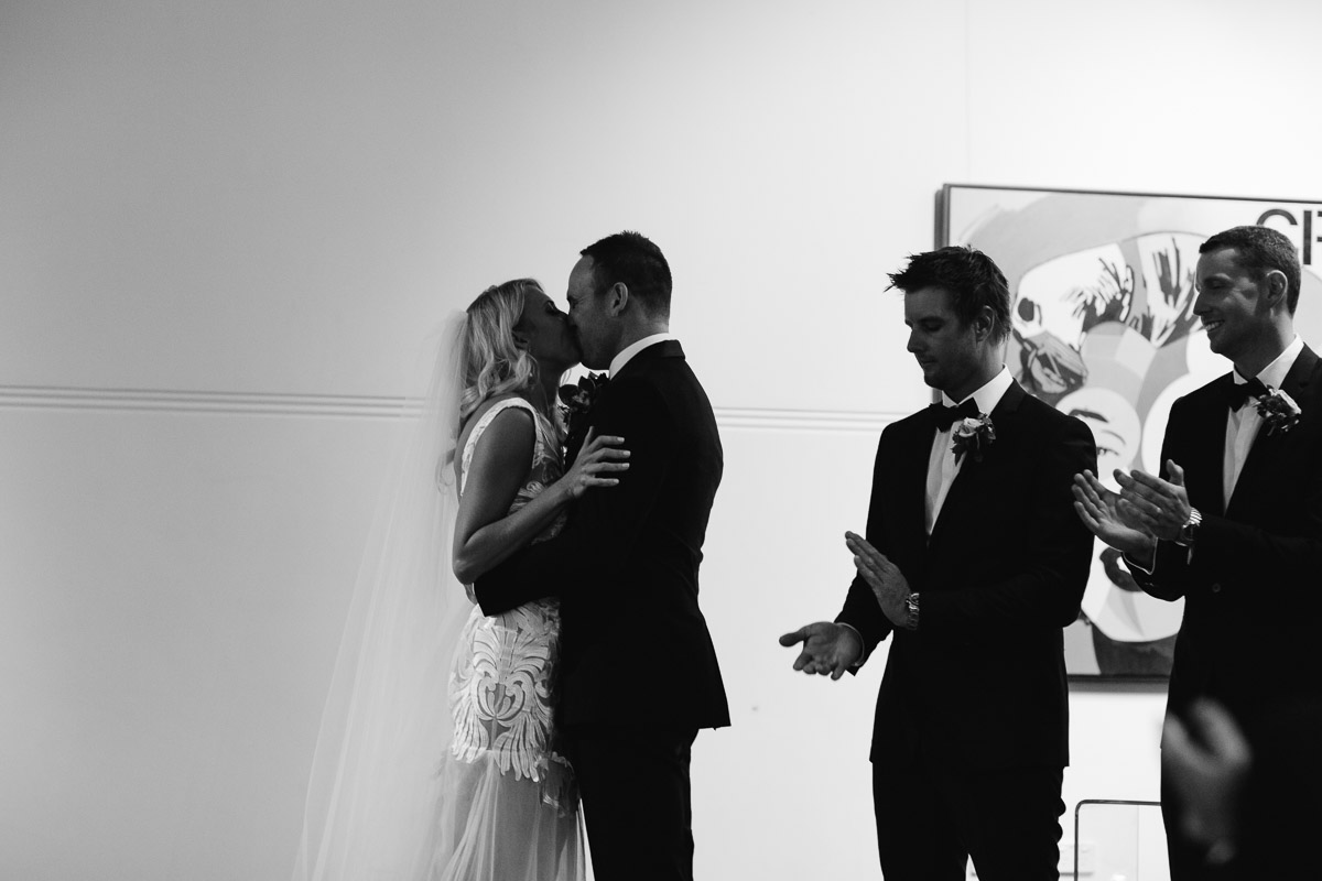 First kiss Linton & Kay Gallery