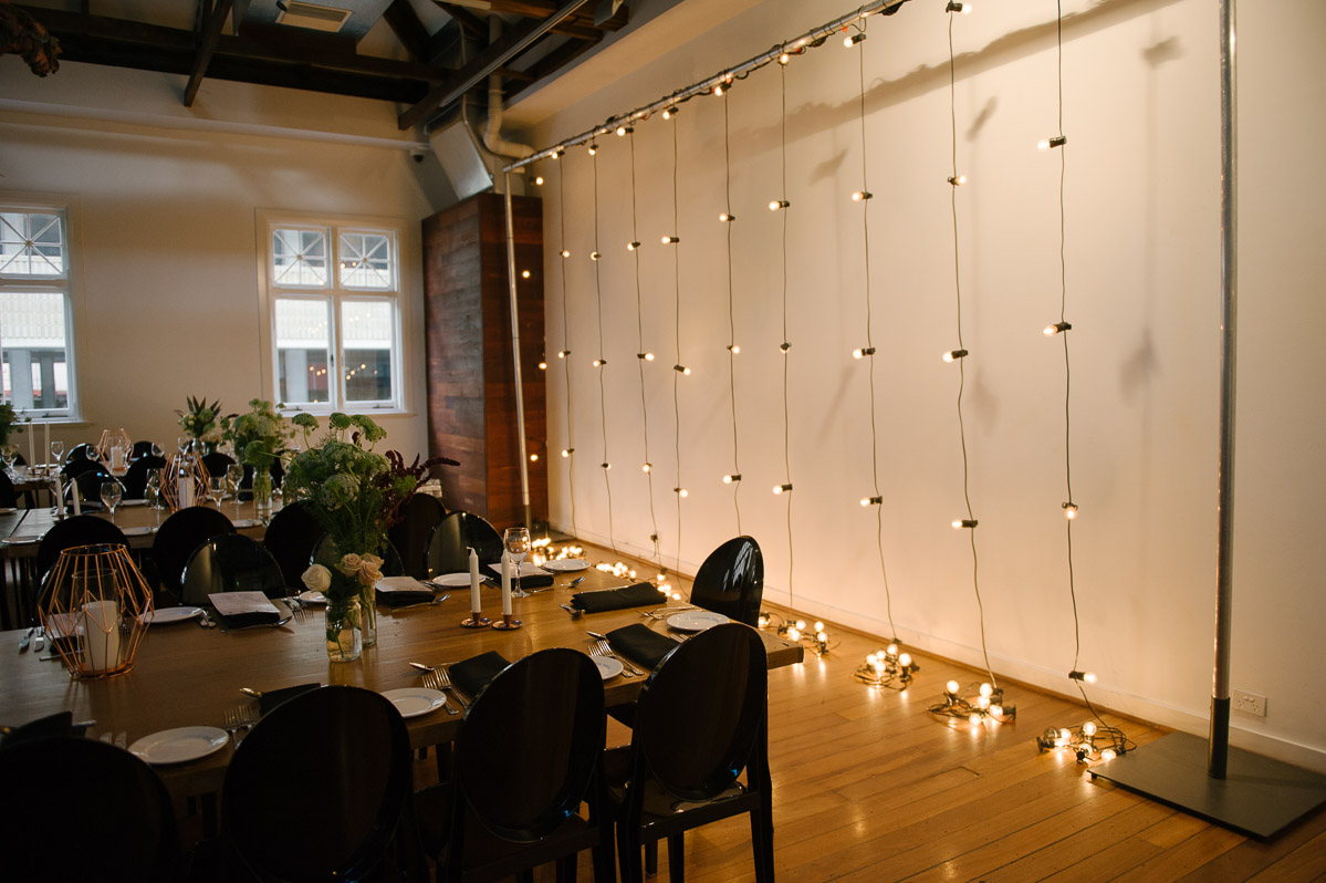 Micktric events lighting - The Flour Factory