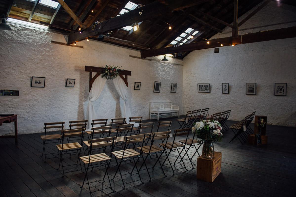 Fremantle wedding-Kidogo Arthouse