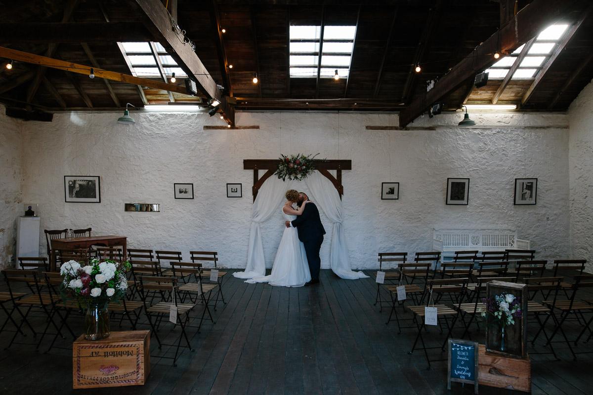 Fremantle wedding-Kidogo ceremony