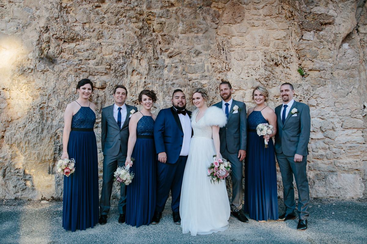 Fremantle Roundhouse bridal party