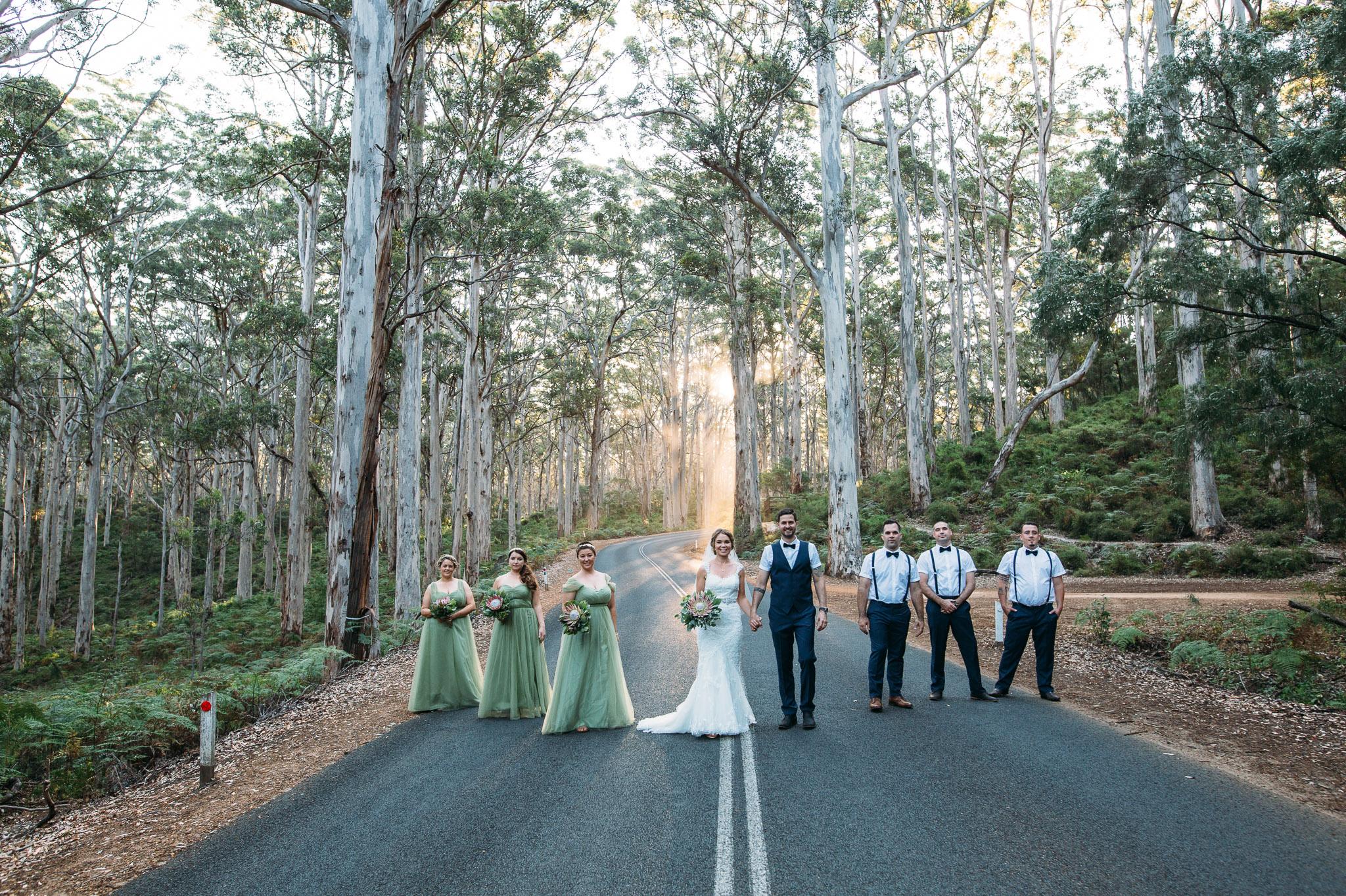 Boronup forest wedding- Margaret River
