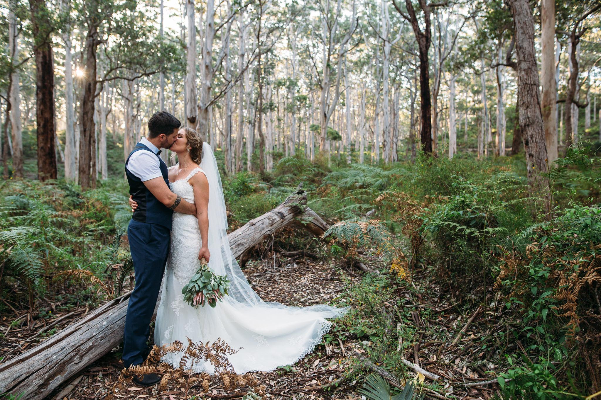 Boron Forest-Margaret River wedding