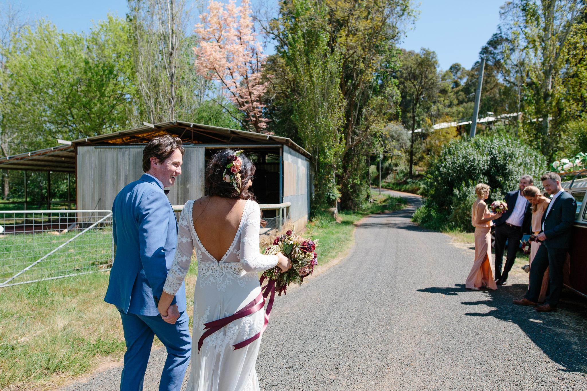 Brookside Vineyard wedding
