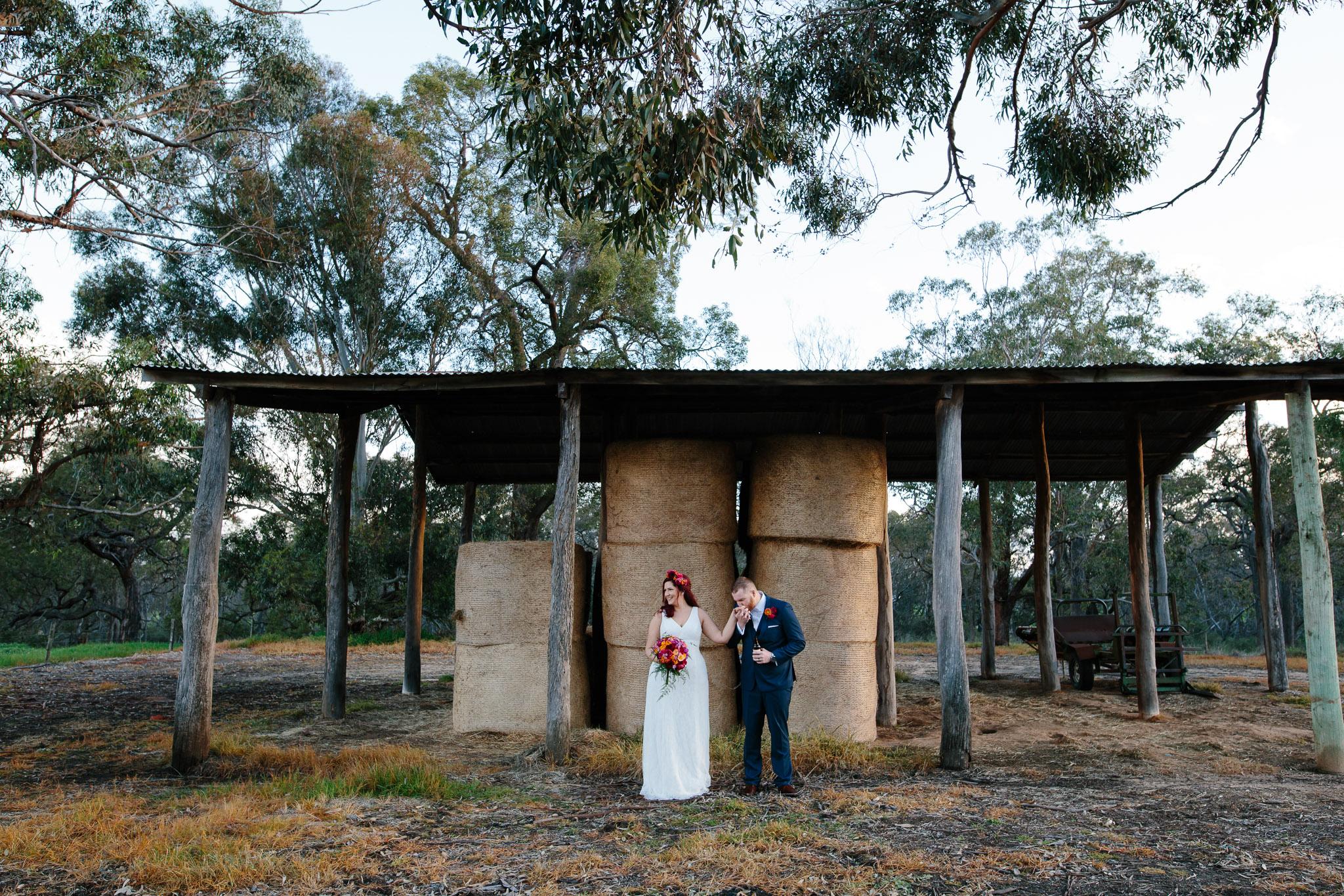 Pinjarra farm wedding