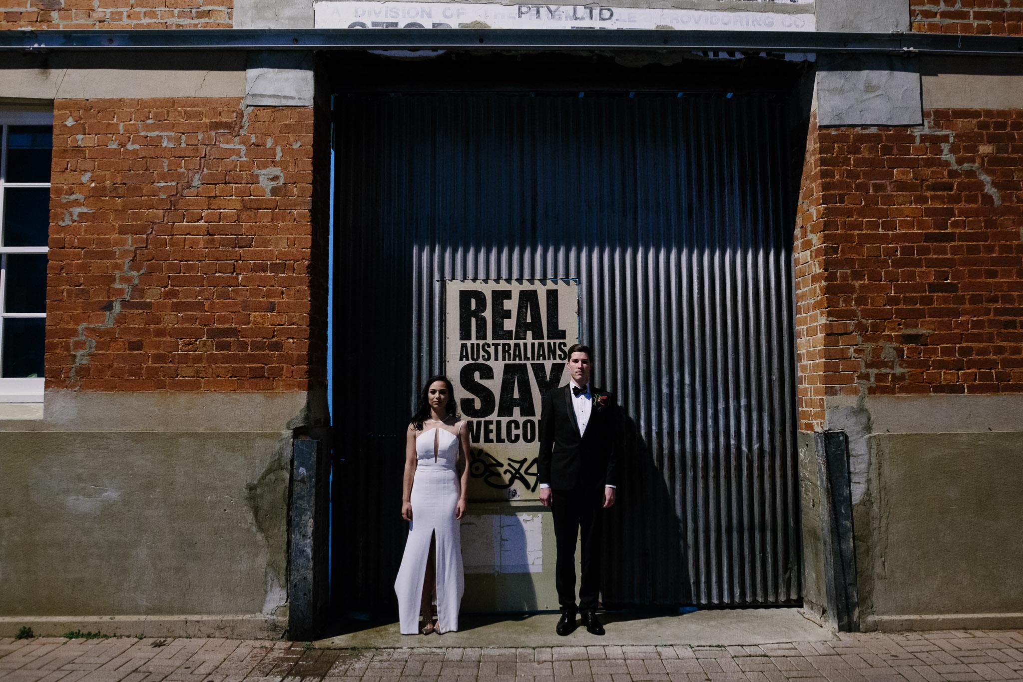 PS Art Space Fremantle wedding