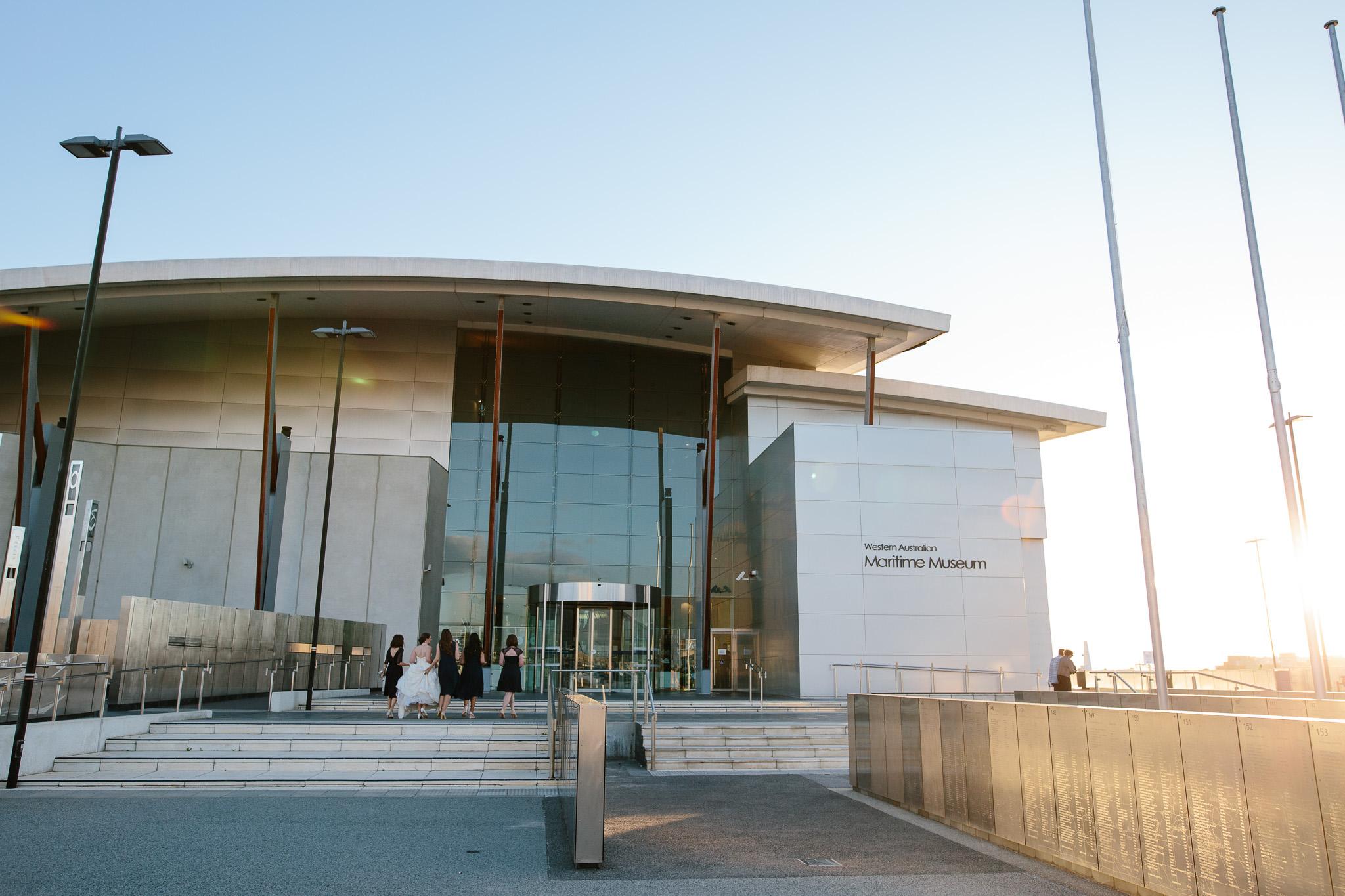 WA Maritime Museum-Fremantle wedding