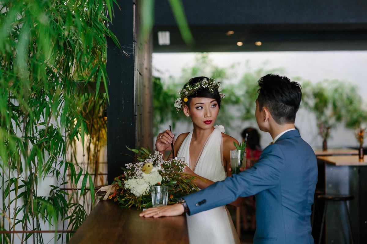 Strange Company-Fremantle wedding