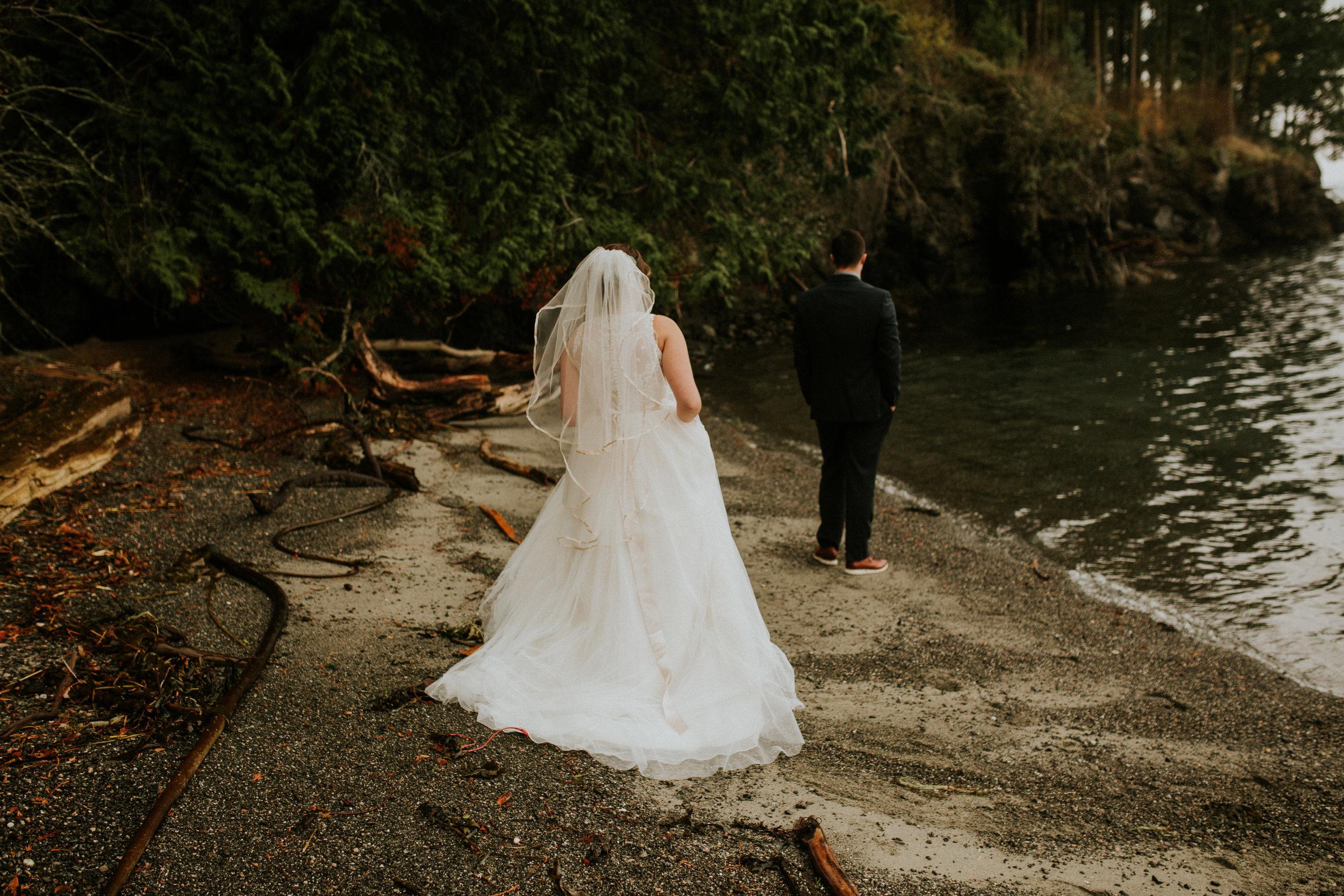 Island adventure elopement