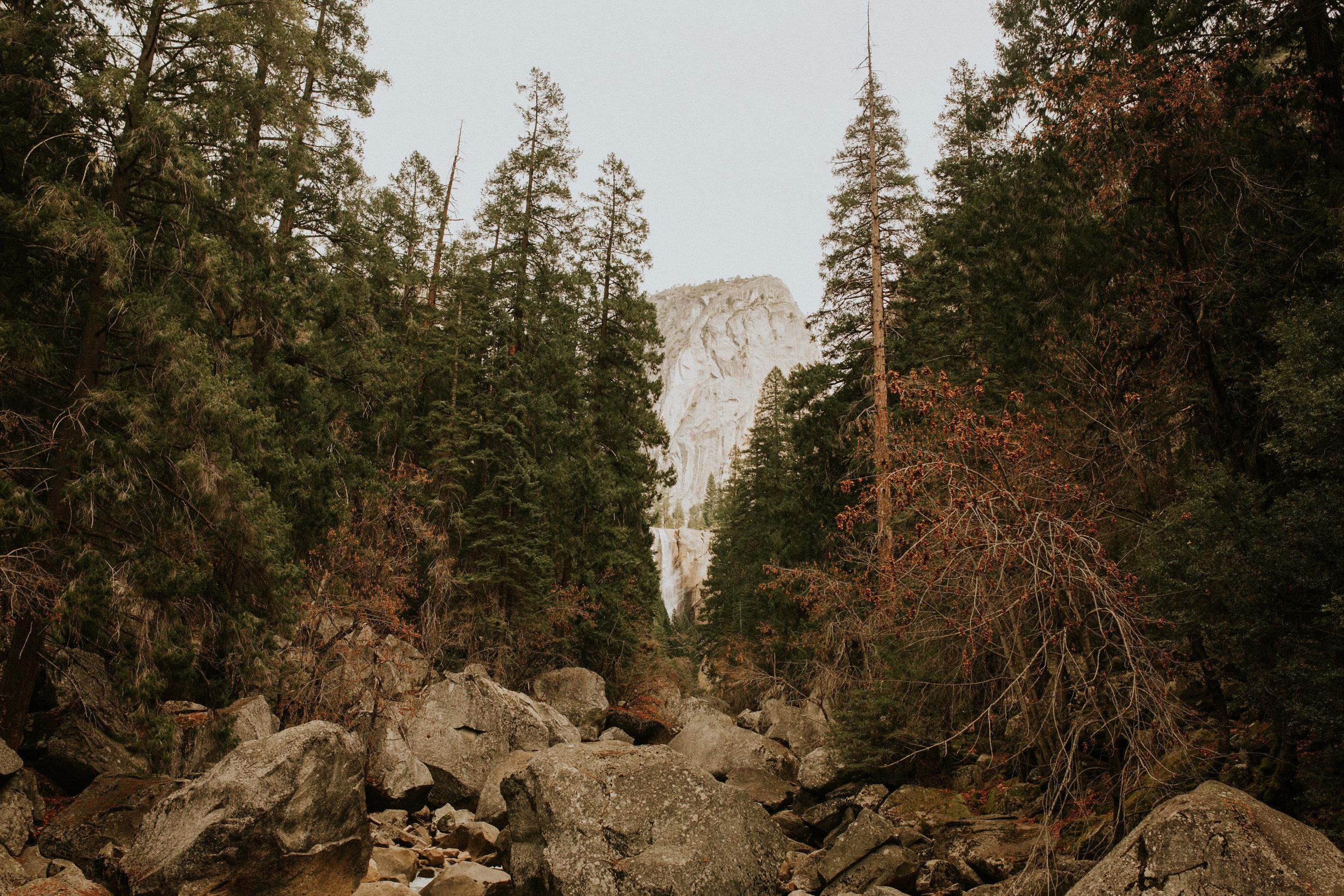yoseite mist trail adventure