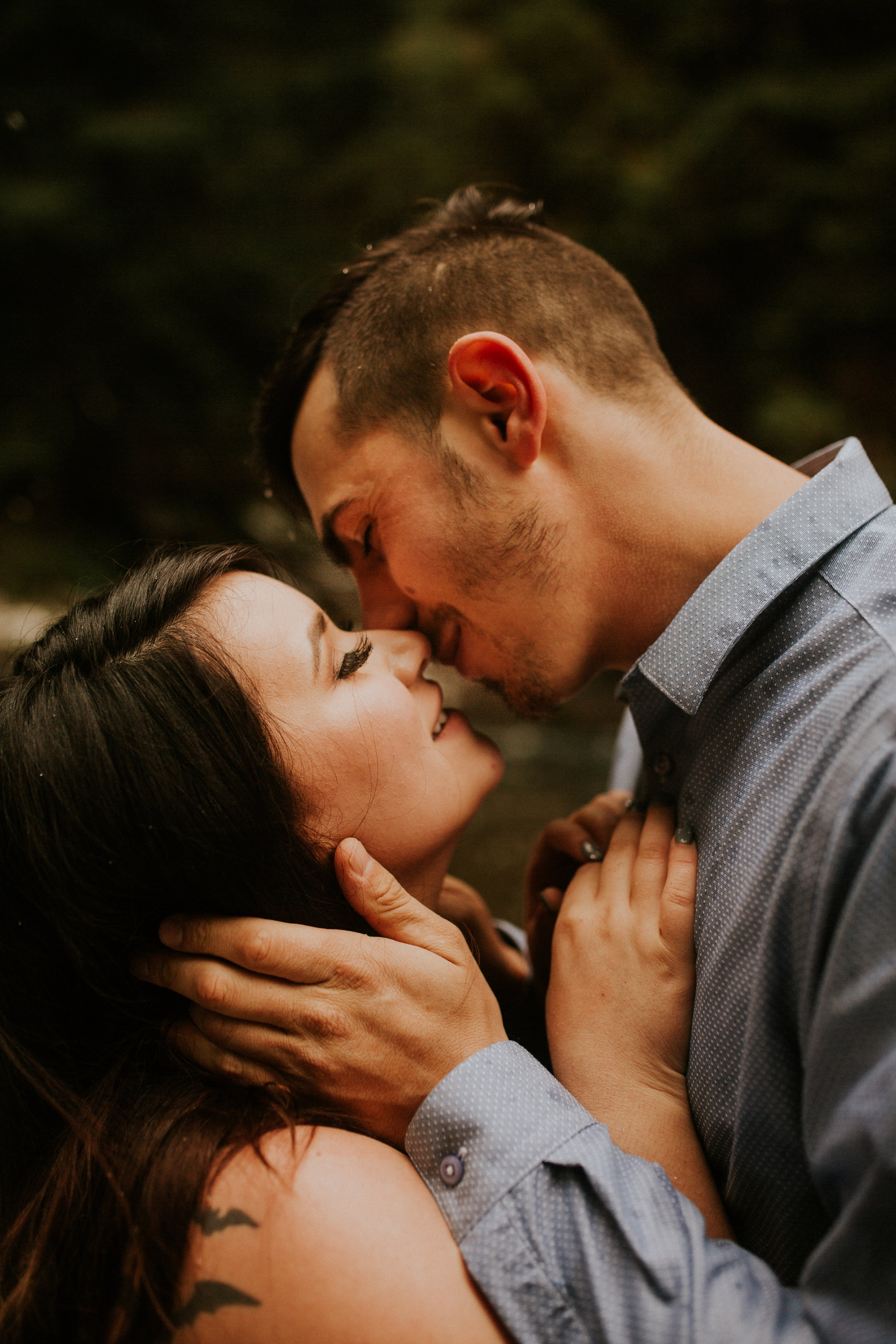 Olympic national park engagement session photos by BreeAnna Lasher