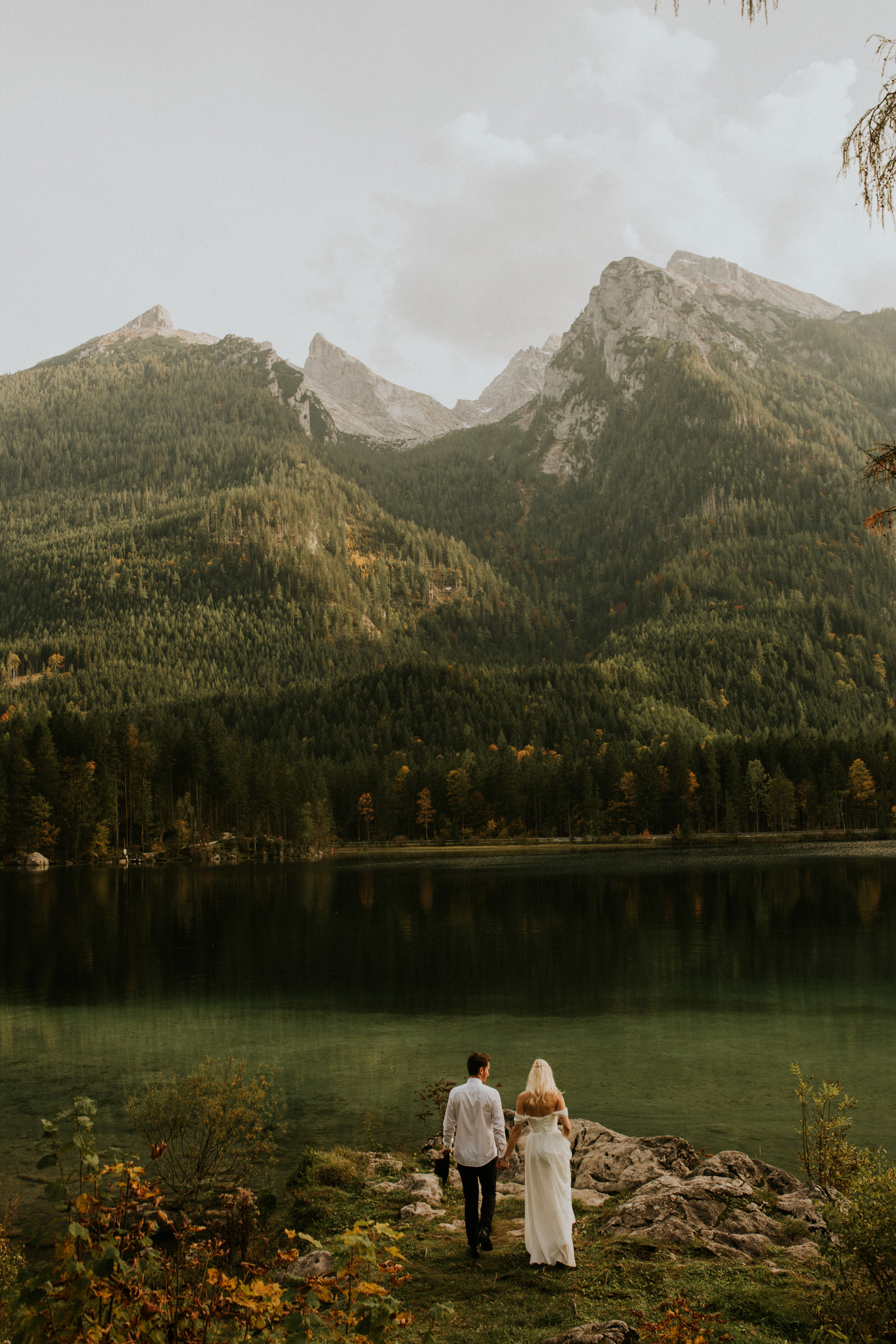 hintersee elopement couple session by photographer BreeAnna Lasher